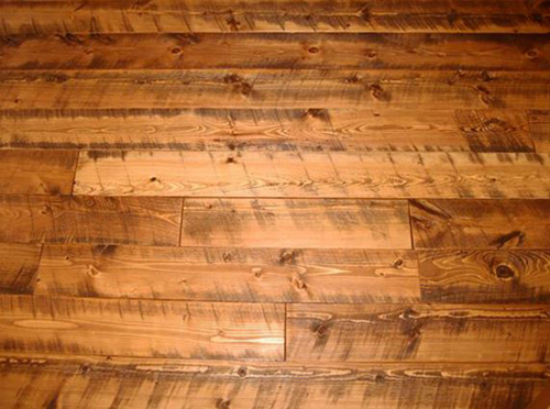 Old Wood Circle Sawn Wide Planks Hardwood Flooring