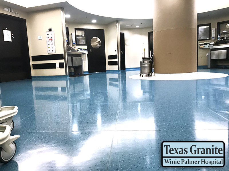 Winnie Palmer Hospital - Orlando, Florida - American Biltrite Texas Granite