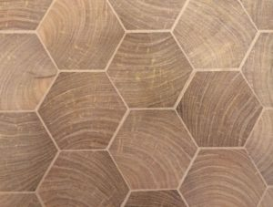 End Grain Hardwood Old Wood Mesquite Flooring