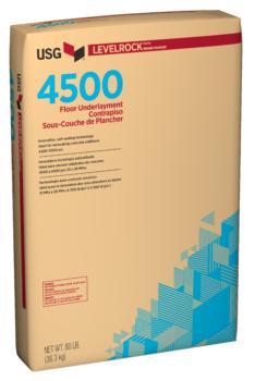 USG Levelrock 4500 Series Floor Underlayments