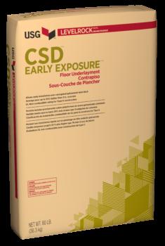 USG Levelrock CSD Early Exposure Series Floor