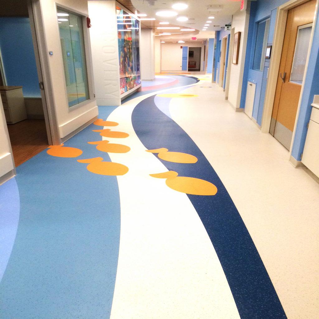St. Jude Children's Research Hospital ABPure American Biltrite Healthcare Flooring