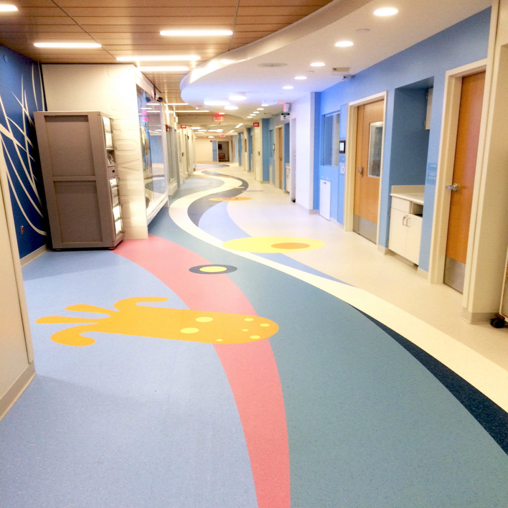 St. Jude Childrens Research Hospital ABPure American Biltrite Healthcare Flooring