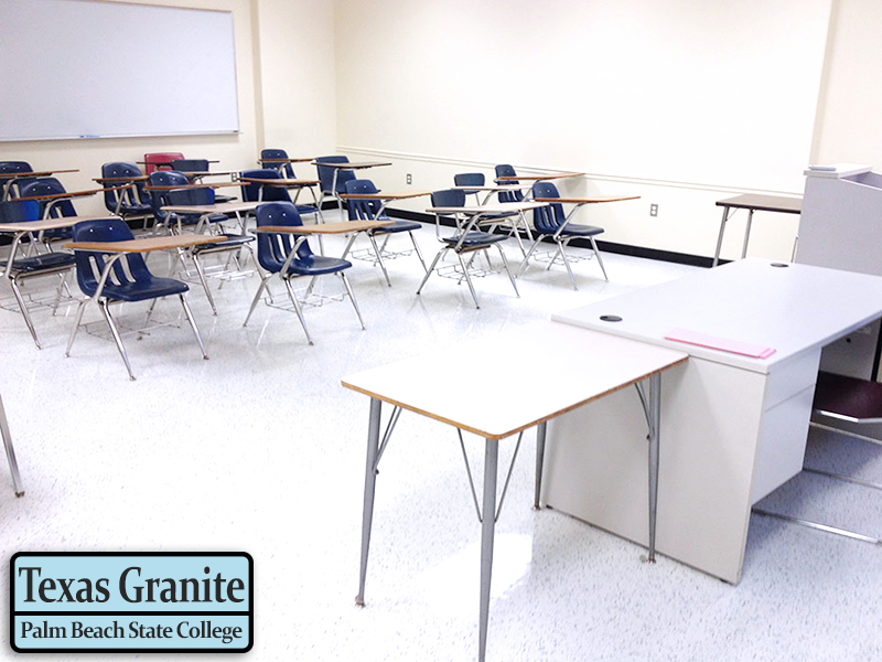 Palm Beach State College - Lake Worth, Florida - American Biltrite Texas Granite