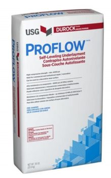 USG Durock Proflow Self-Leveling Underlayment
