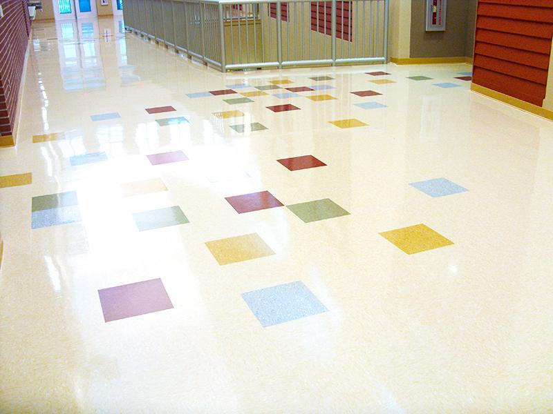 Weeki Wachee High School American Biltrite Educational Flooring