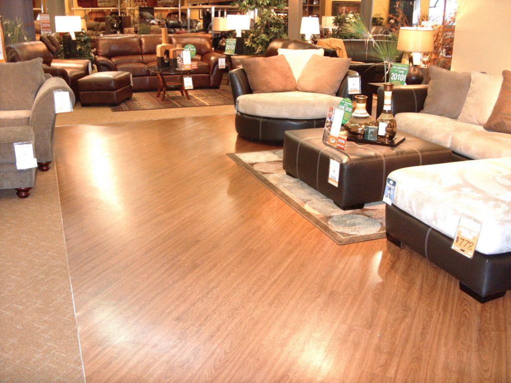 Furniture Row Daytona Beach FL Yorkshore Commercial Flooring