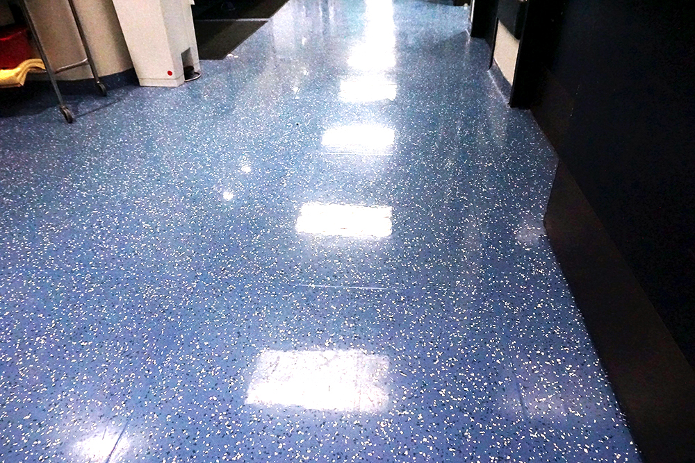 Winnie Palmer Hospital Healthcare Commercial Flooring Yorkshore Texas Granite