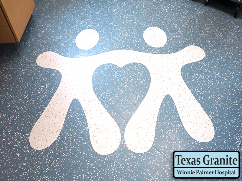 Winnie Palmer Hospital - Orlando, Florida - American Biltrite Texas Granite Mirra