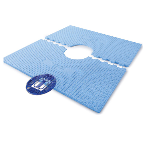 Pre-Sloped Shower Tray w/ Disk