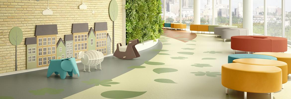 Yorkshore Commercial Rubber Flooring