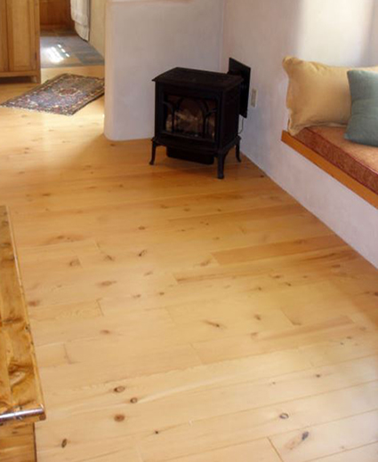Old Wood Conventional TG Wide Planks Hardwood Flooring