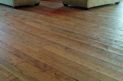 Old Wood Hand Planed Wide Planks Hardwood Flooring