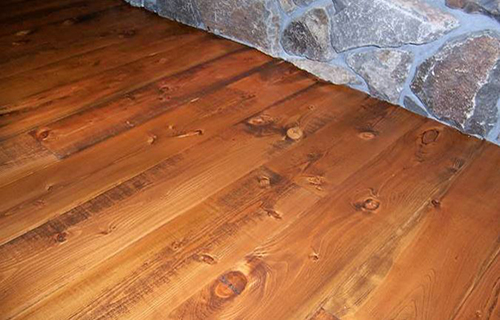 Old Wood Skip Planed Wide Planks Hardwood Flooring