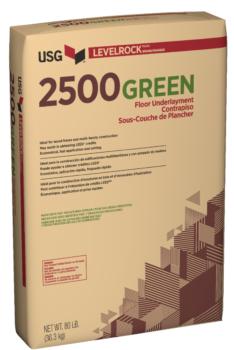 USG Levelrock 2500 Series Floor Underlayments