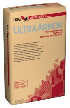 USG Levelrock UltraArmor Series Floor Underlayment