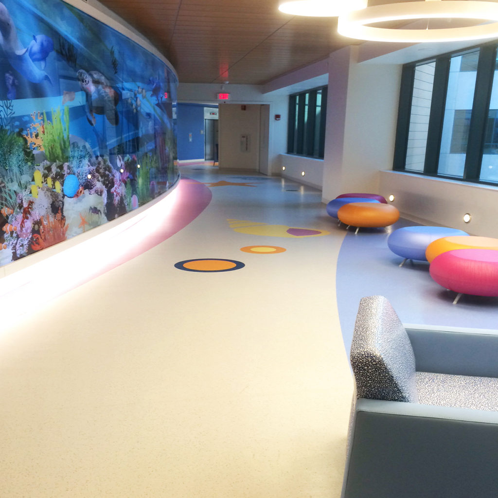 St. Jude Childrens Research Hospital ABPure American Biltrite Healthcare Flooring