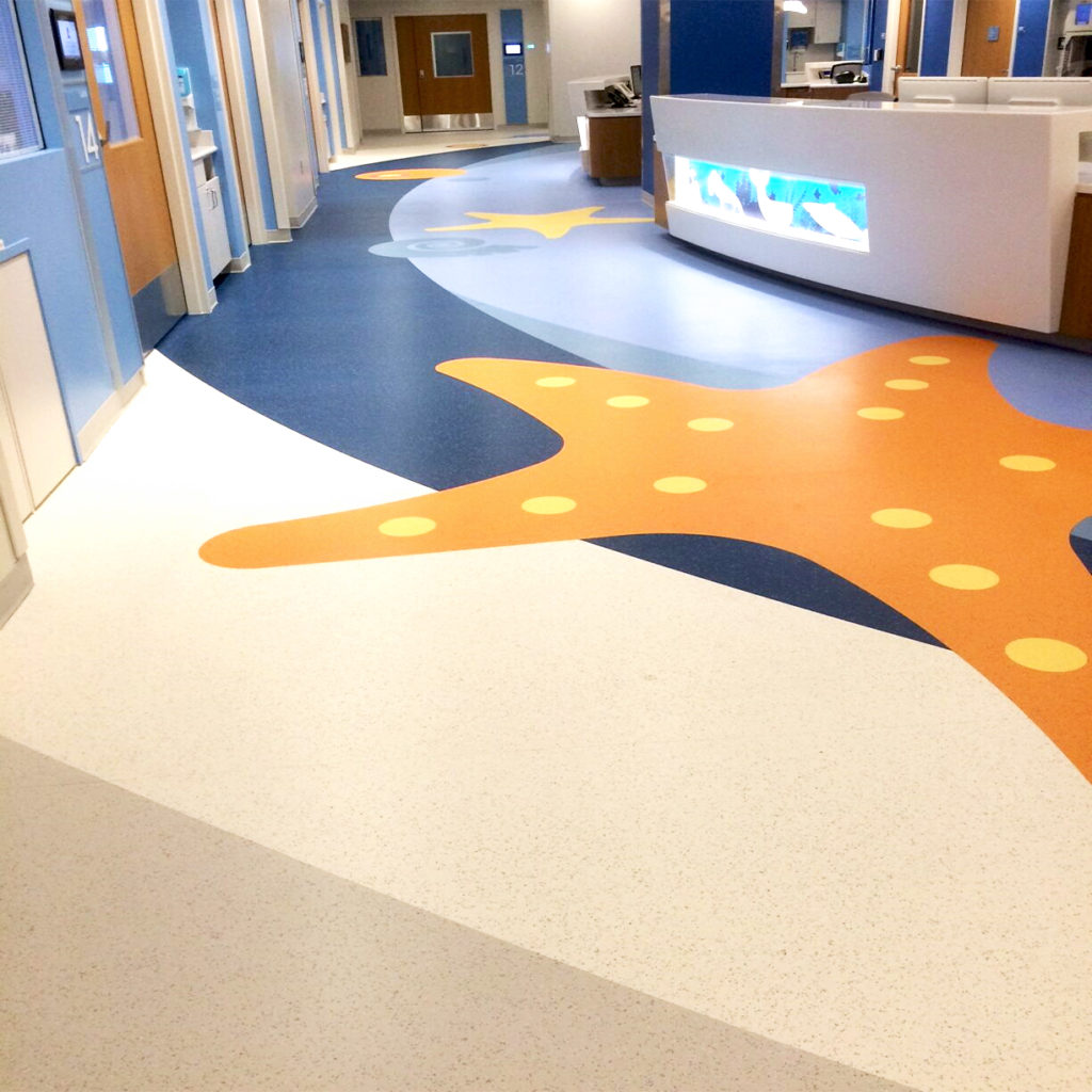 St Jude Childrens Research Hospital ABPure American Biltrite Healthcare Flooring