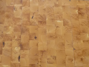 End Grain Hardwood Old Wood Pinon Flooring