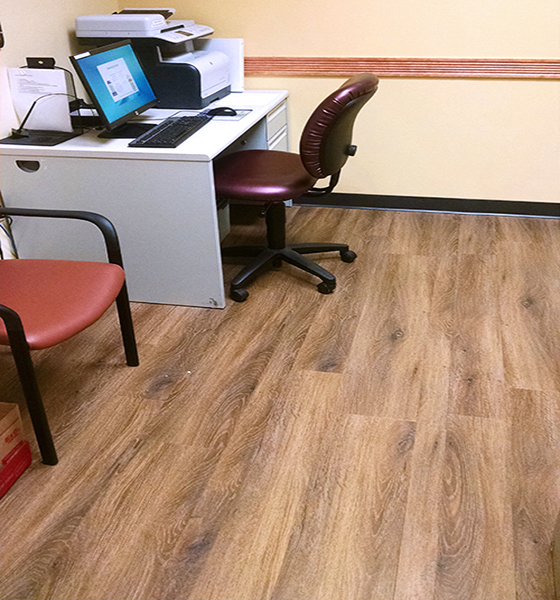 The Villages Florida Creek Street Boardwalk Avion Healthcare Flooring