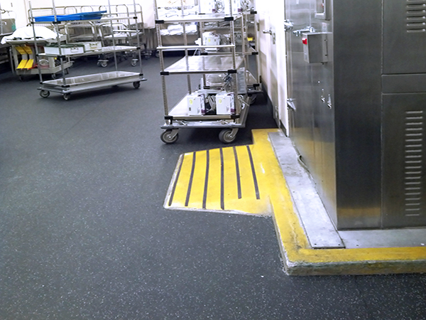 Florida Hospital Winter Park Memorial AdventHealth Anchor Safety Floor Full Sail