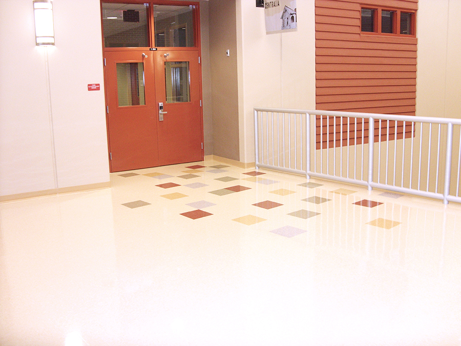 Weeki Wachee High School American Biltrite Educational Flooring