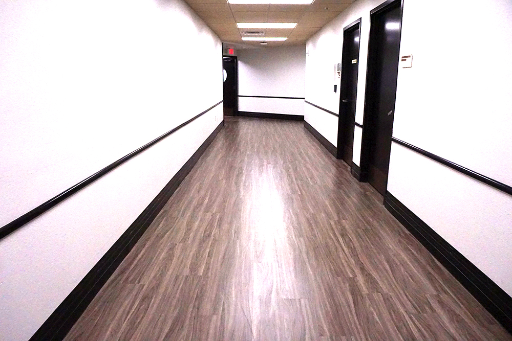 Winnie Palmer Hospital Healthcare Commercial Flooring Yorkshore Mirra Wood
