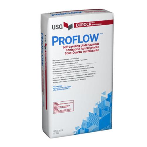 Proflow Self leveling USG durock
