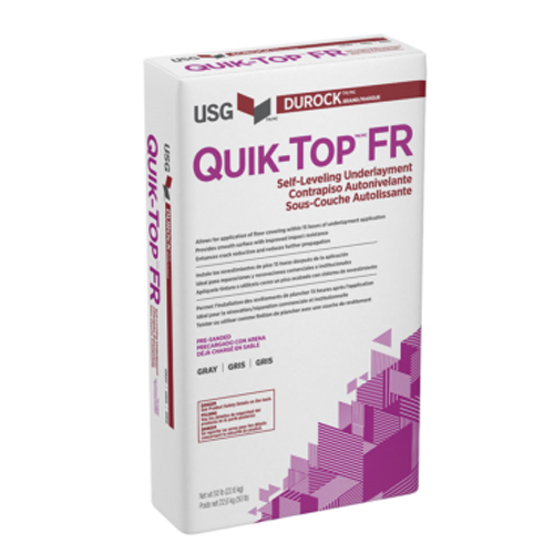 Quik Top White FR Durock USG Quick Floor Prep