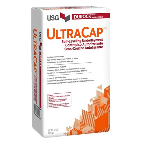 Ultracap self leveling usg floor prep
