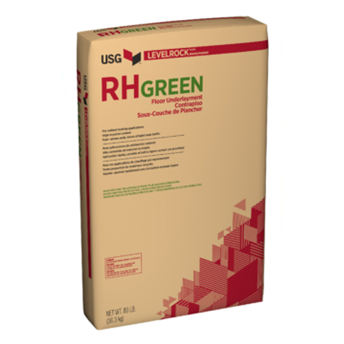 USG Levelrock RH Green Series Floor