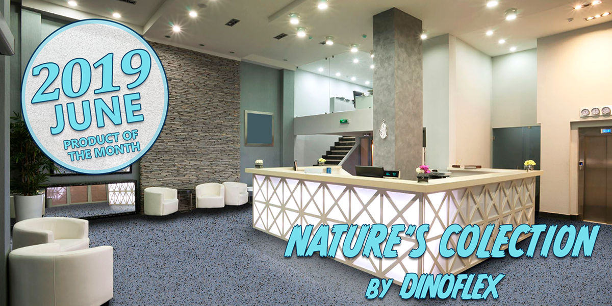 Natures Collection Dinoflex Commercial Flooring Rubber Hospital Schools