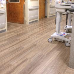 Hospital Commercial Flooring - American Biltrite - Yorkshore - Dade City AdventHealth