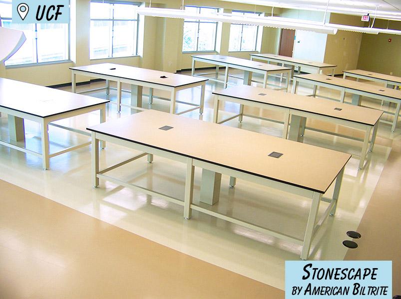 UCF American Biltrite Commercial Flooring Yorkshore - School Flooring