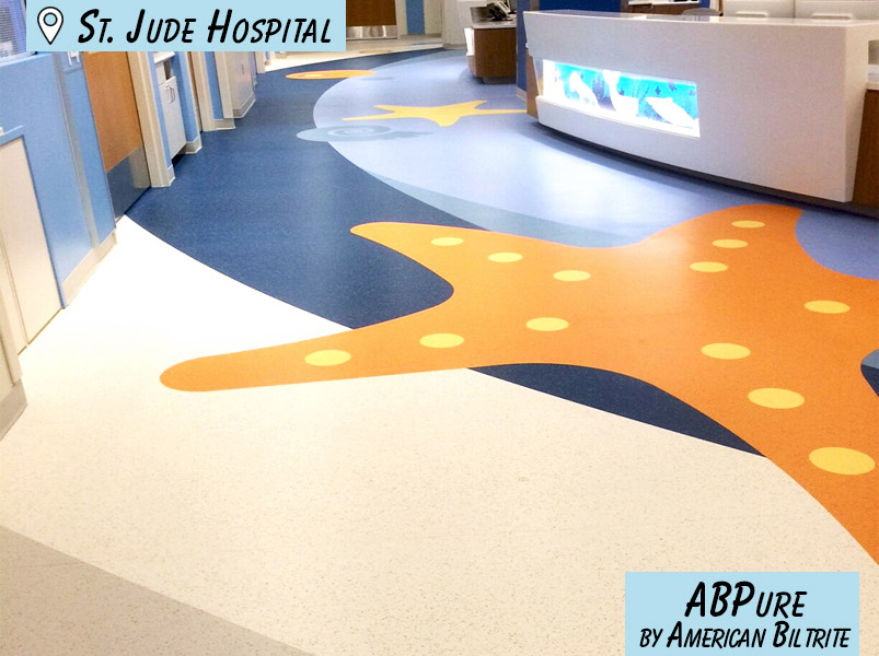 Hospital Flooring - Commercial Flooring Project