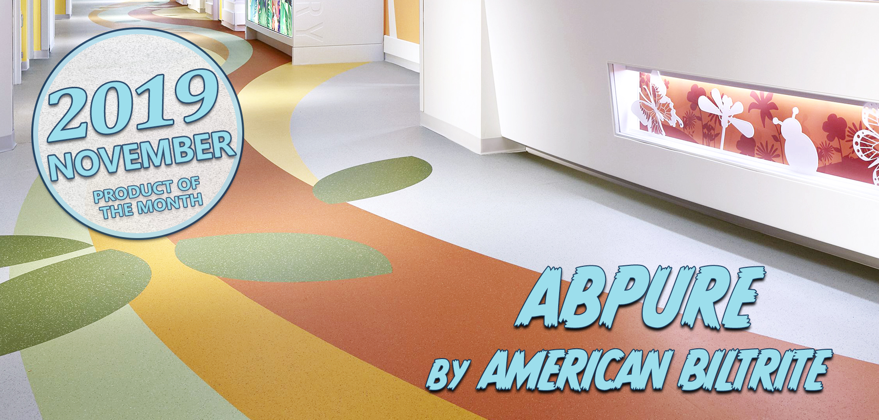 Hospital Flooring - commercial hospital flooring - rubber flooring - abpure by american biltrite