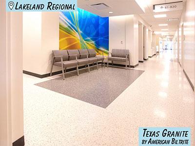 Hospital Flooring - Florida Lakeland Regional