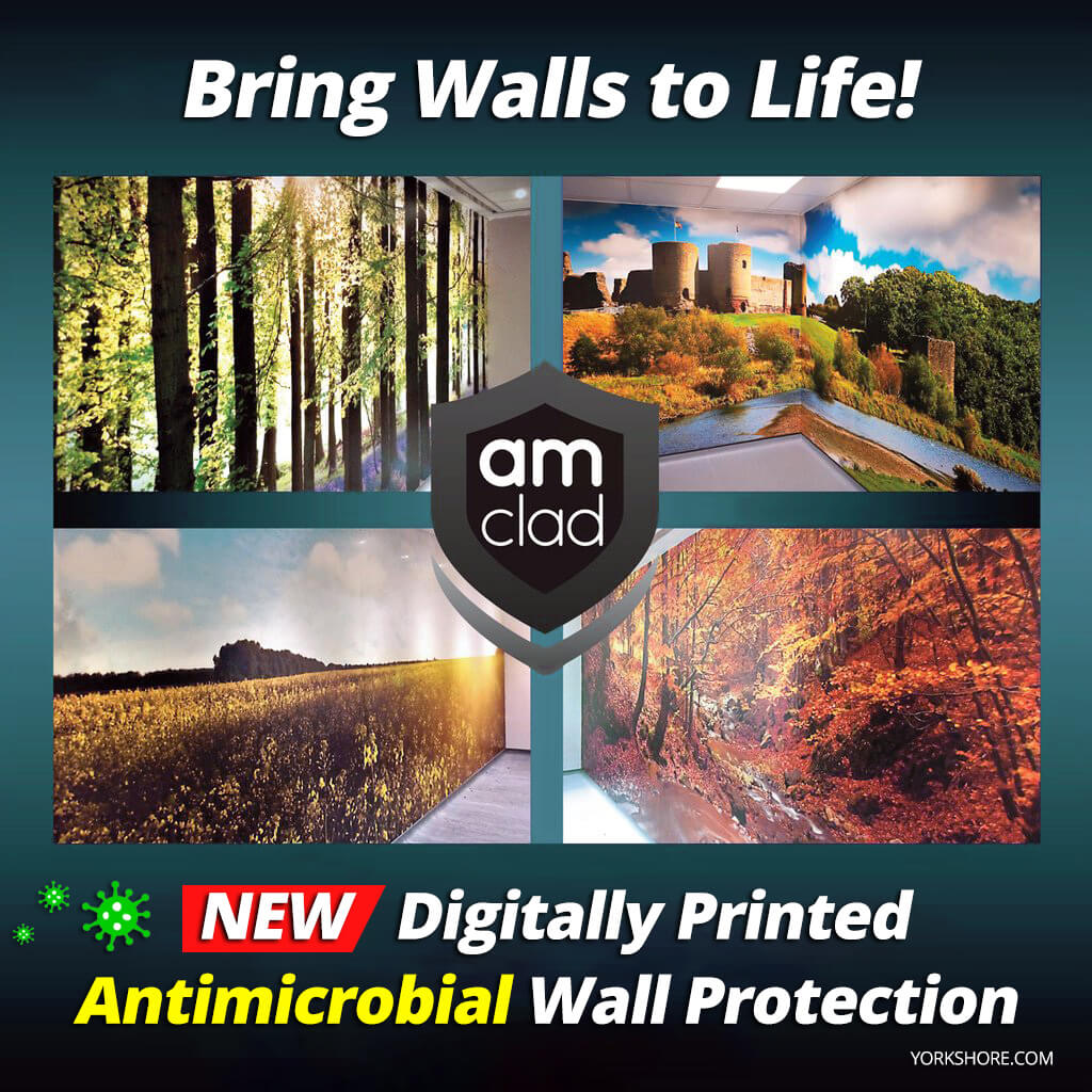custom antimicrobial wall protection