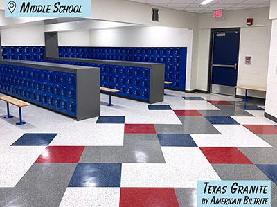 School Flooring - Commercial Vinyl