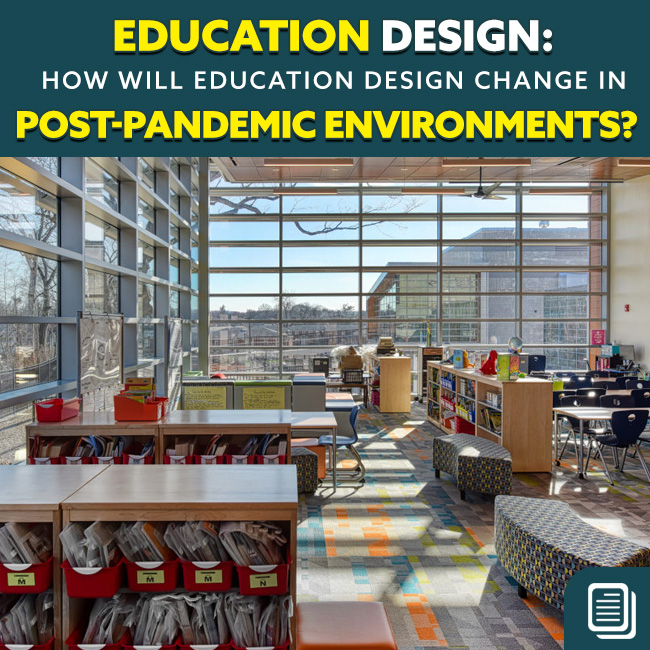 school design - post pandemic covid coronavirus