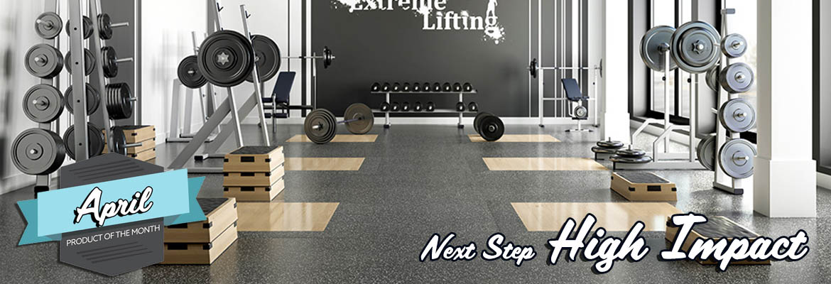 Rubber Gym Flooring - Next Step High Impact