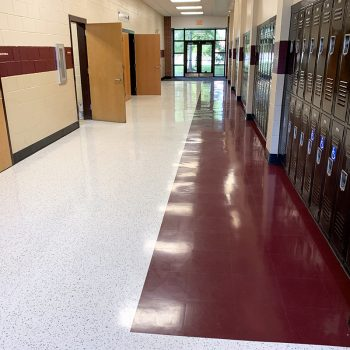 Baptist Hill High School Flooring