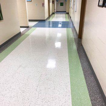 Elementary School Flooring