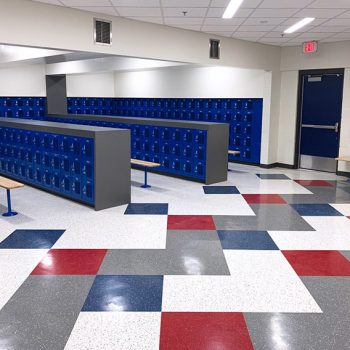 Gym School Flooring