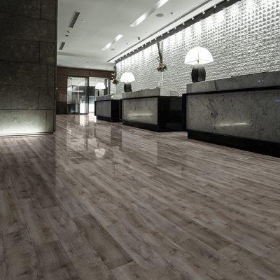 SPC Flooring in Hotel Reception