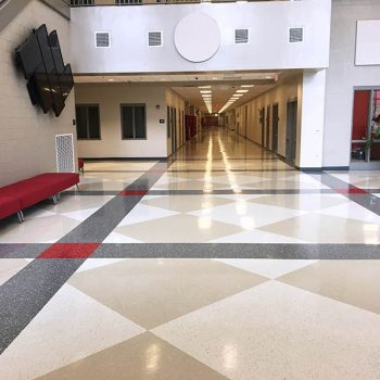 Hill High School Flooring